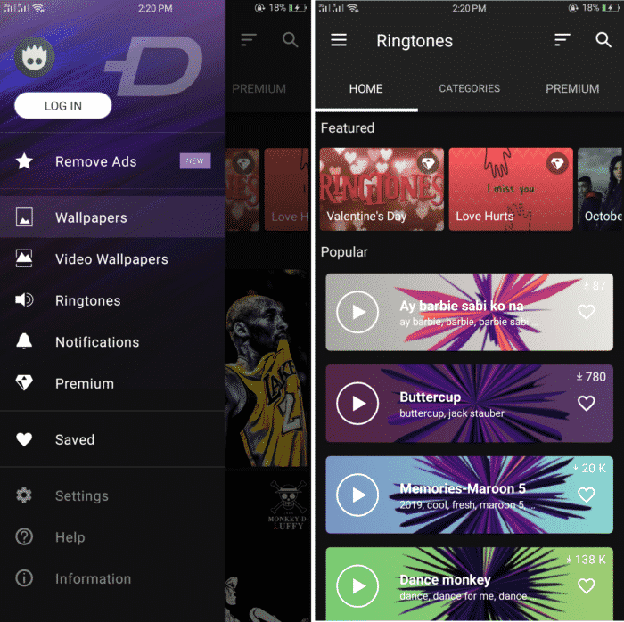 ZEDGE Ringtones for Android 1
