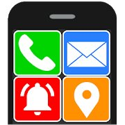 Best Android Launcher for Seniors - Senior Safety Phone Logo