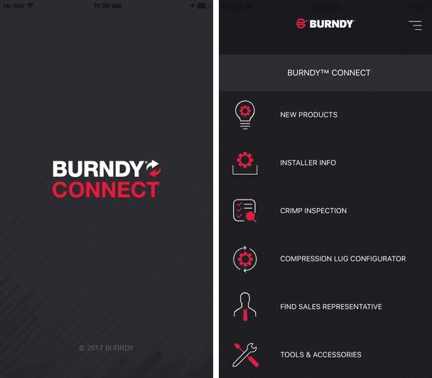 app development companies zco burndy connect app