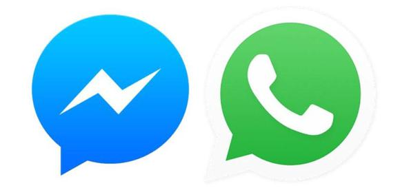 Facebook Messenger & WhatsApp