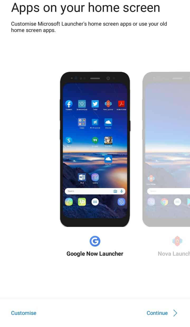 How to Change Android Launcher on Your Devices - Microsoft Launcher Settings