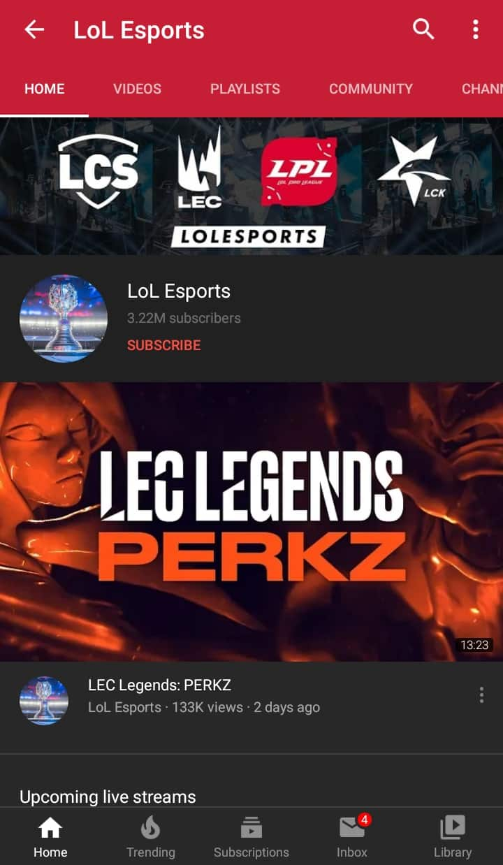 How to Watch League of Legends on Android - Watch Using YouTube - LoL Esports Channel
