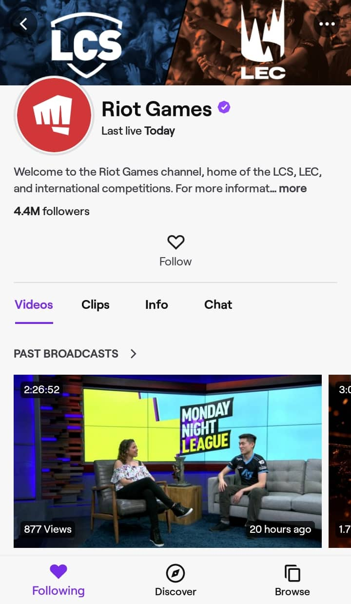 How to Watch League of Legends on Android - Watch Using Twitch - Riot Games