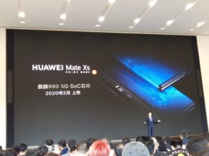 Huawei Mate Xs set to be released this year