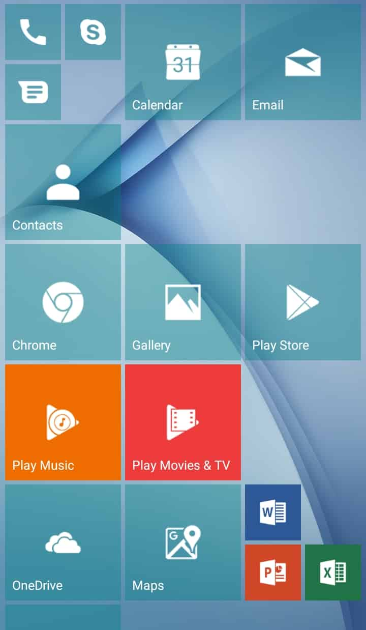 Best Microsoft Windows Launcher for Android - Launcher 10 Home Screen