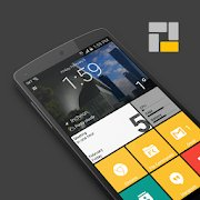 Best Microsoft Windows Launcher for Android - Square Home 3 Launcher Logo
