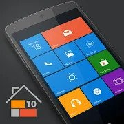 Best Microsoft Windows Launcher for Android - Win 10 Launcher Logo