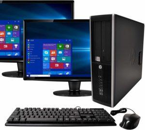 HP Elite Desktop Set