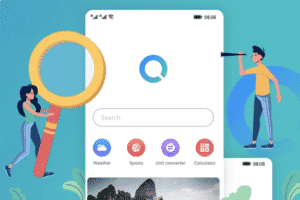 Huawei Search – the Chinese manufacturer's surprise for Google