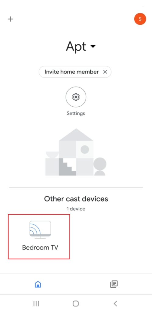 Set Up Chromecast - Home