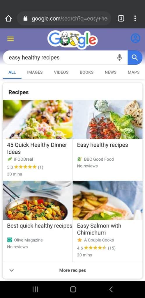 Stay Healthy Amidst Corona Virus - Google Chrome Recipes