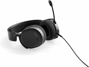 SteelSeries Arctis 3 Headset with the Mic out