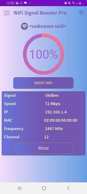 wifi signal strength app: WiFi Signal Booster Pro