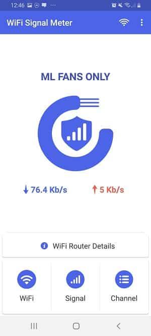 wifi signal strength app: WiFi Signal Meter