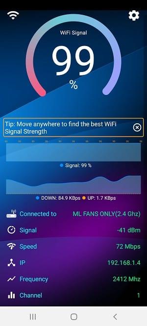 wifi signal strength app: WiFi Signal Strength Meter