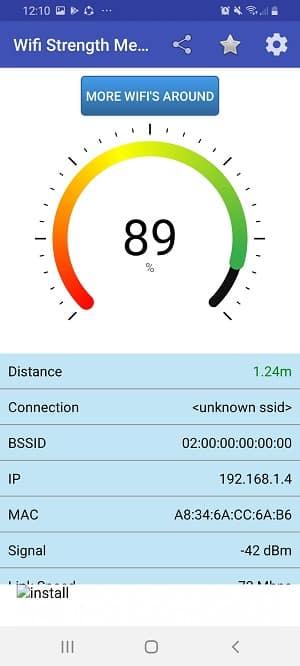 wifi signal strength app: Wifi Strength Meter