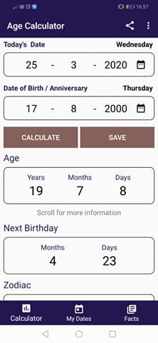 Age Calculator Apps: Calculate your age
