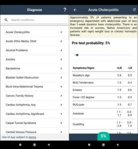 Diagnose Interface - Medical Diagnosis Apps
