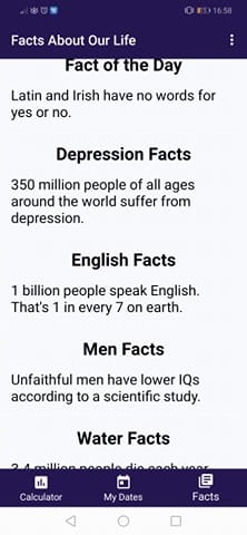 Age Calculator Apps: Interesting facts