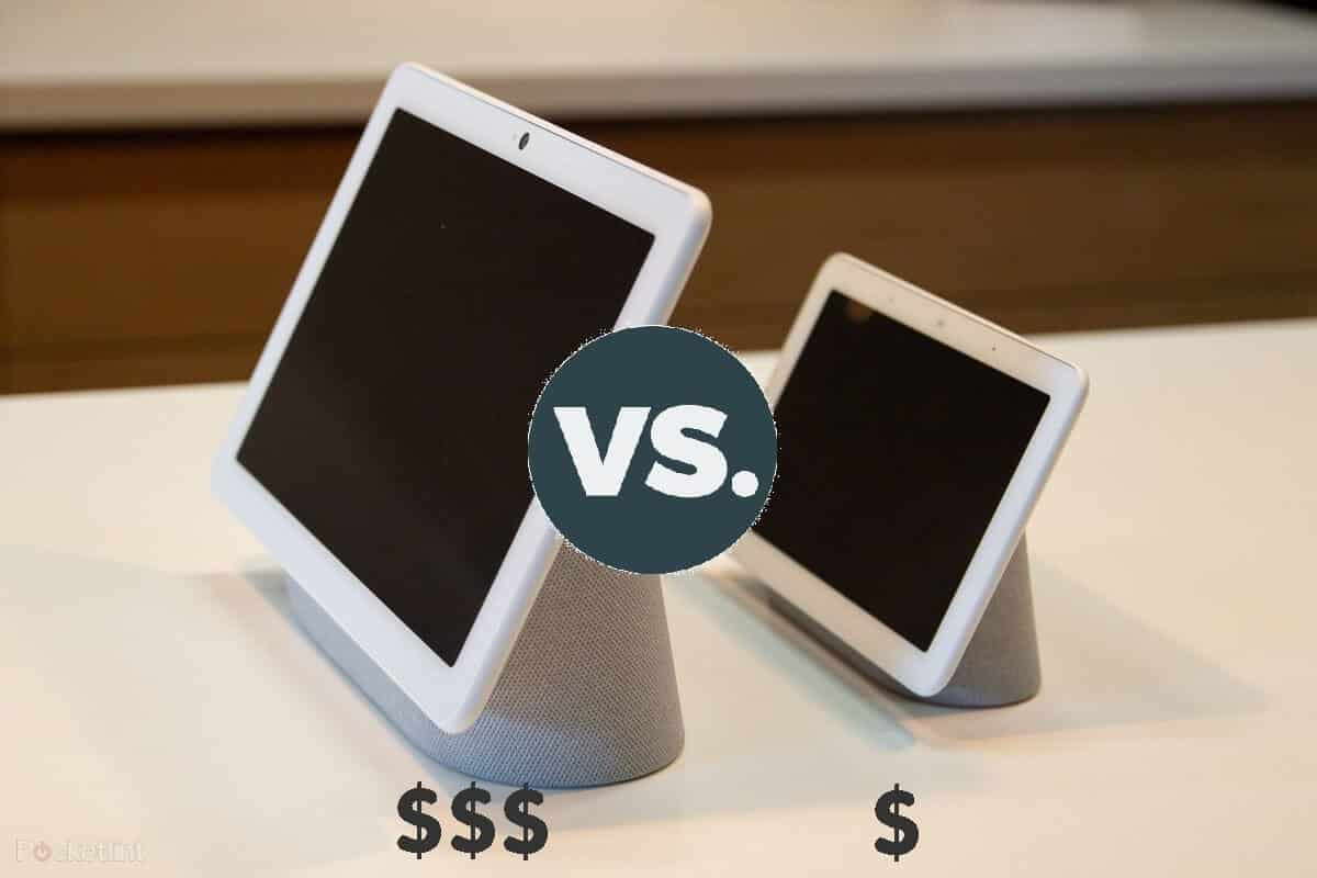 nest hub and nest hub max price difference