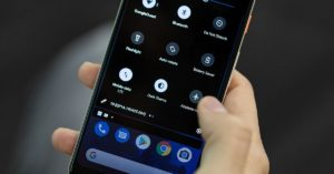 Scheduled dark mode on the latest Android 11