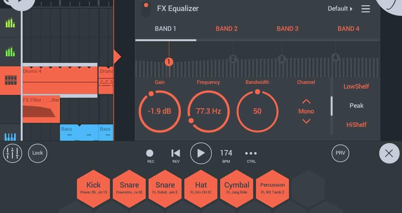 FL Studio User Interface uploading tracks