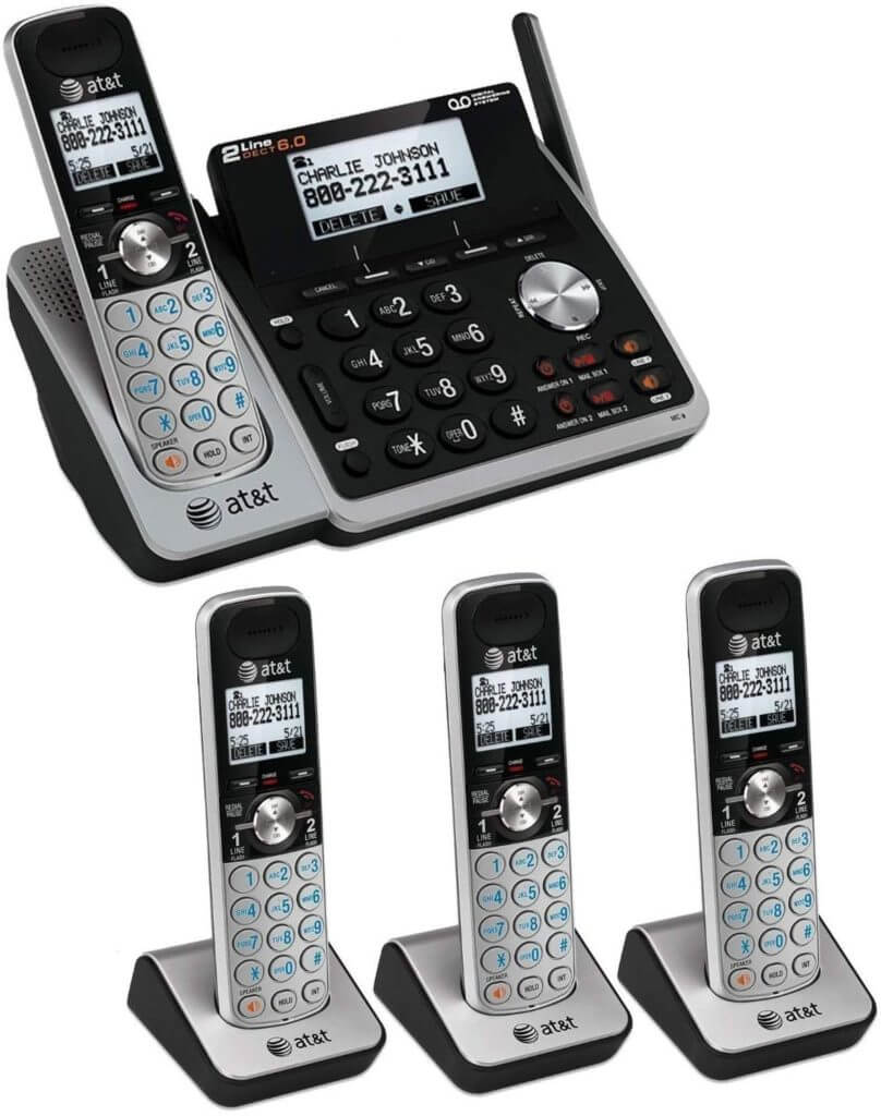 AT&T (TL88102) multi line phone system for small business