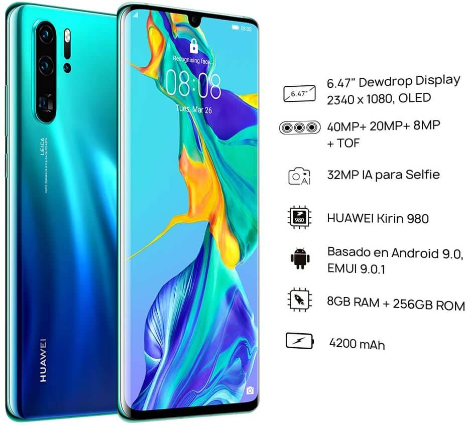 Looking for the best dual sim android phones? Check out Huawei P30 Pro