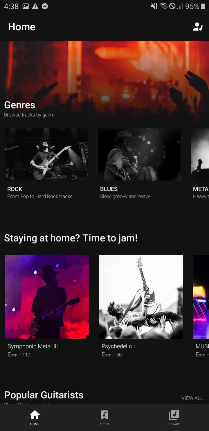 Best Android Apps for Musicians - Backtrackit