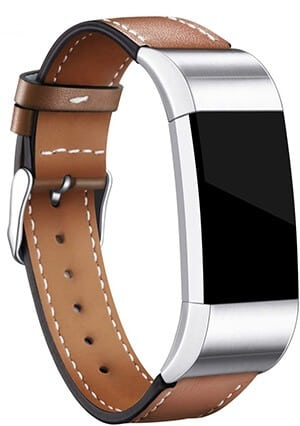 Best Android-Compatible Fitbit Watch Bands – Hotodeal Genuine Leather Replacement Band