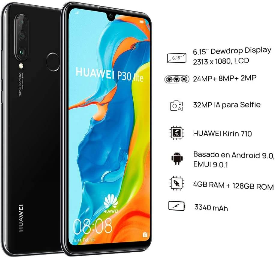 Looking for the best dual sim android phones? Go for the Huawei P30 Lite