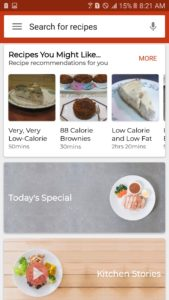 low calorie desserts by one of the best cookbook apps