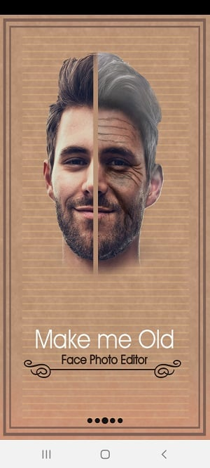 Best Aging Apps for Android: Make me Old (2)