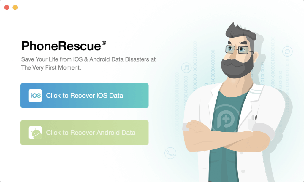 PhoneRescue Android Homepage