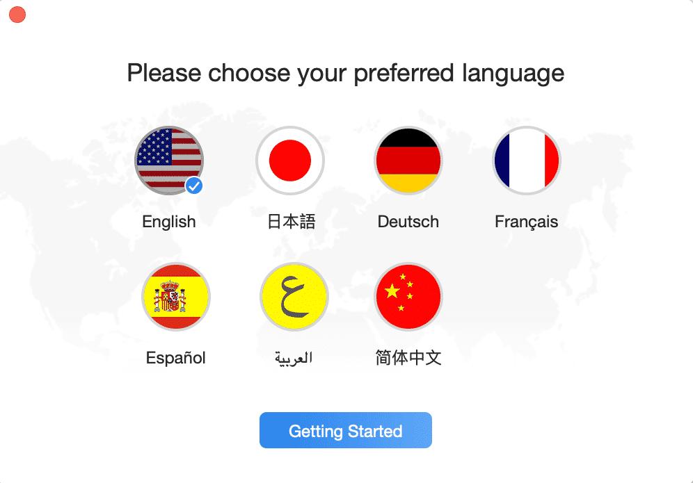 PhoneRescue Languages