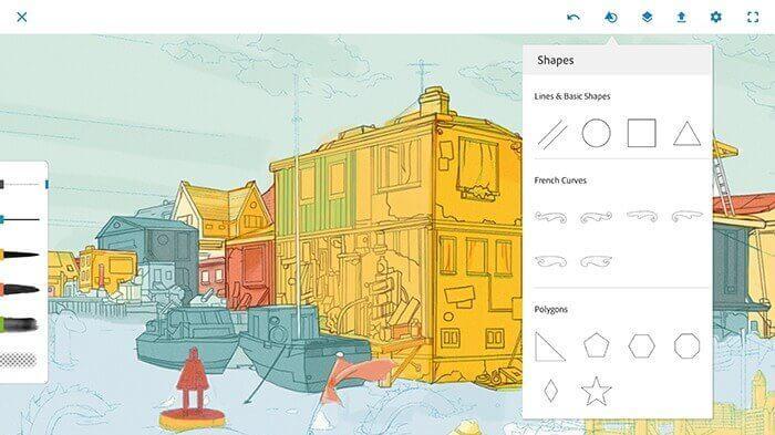 Procreate Android - Adobe Photoshop Sketch - Incorporate CreativeSync