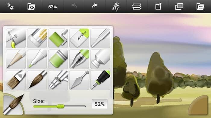 Procreate Android - ArtRage – Brush Types