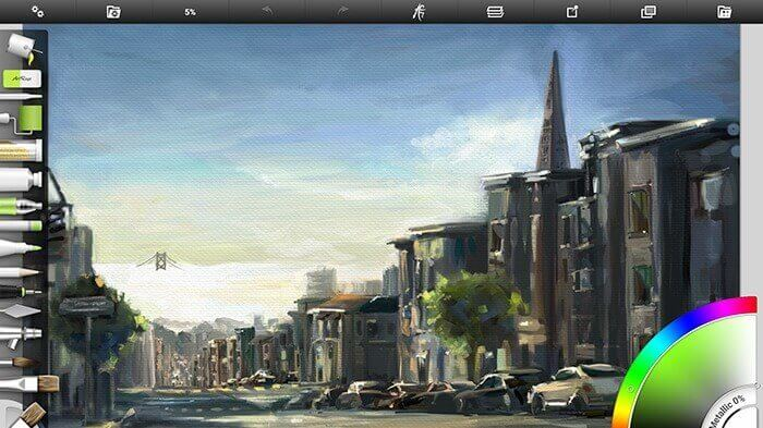 Procreate Android - ArtRage – Sample Painting
