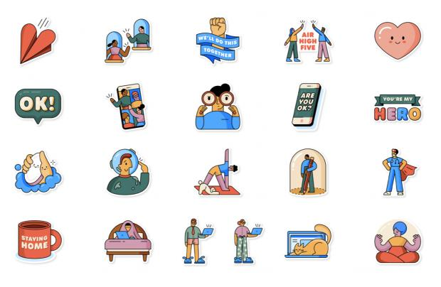 WhatsApp's new 21 lockdown-themed emojis