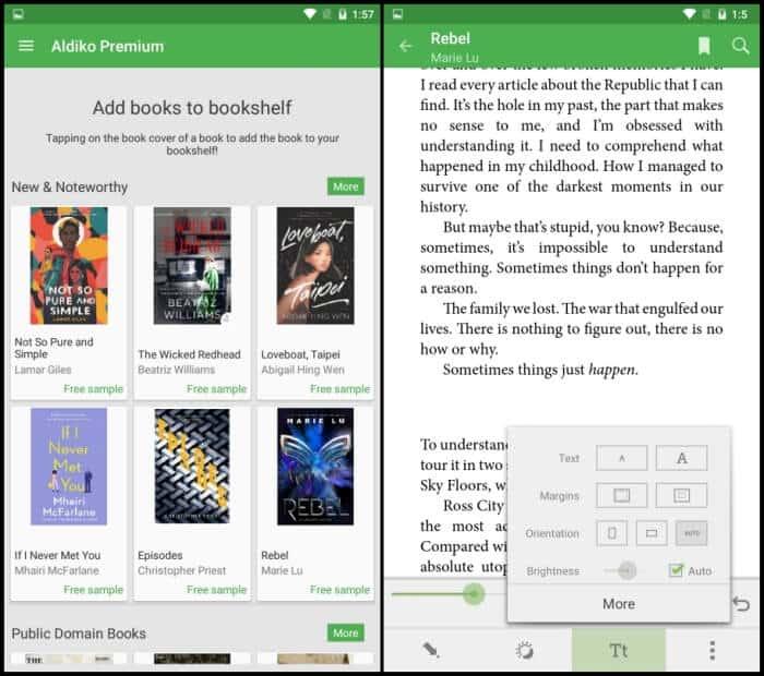 Aldiko Classic Premium - Best eBook Reader Apps
