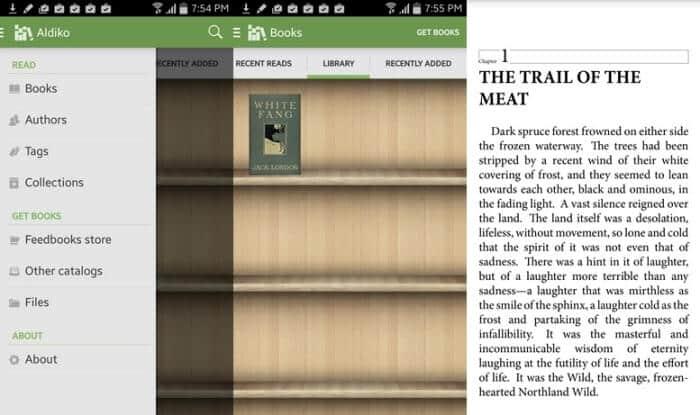 Aldiko Book Reader - Best eBook Reader Apps