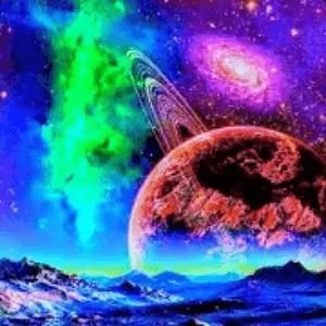 Alien Worlds Logo - Music Visualization Apps
