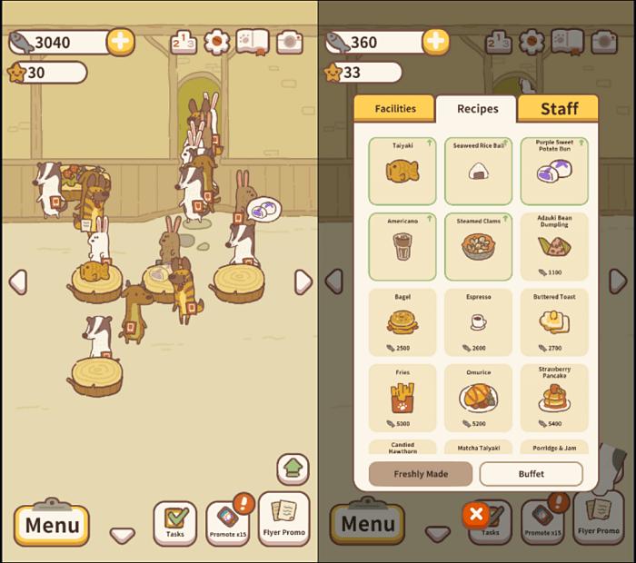 Animal Restaurant Gameplay - Best Idle Games