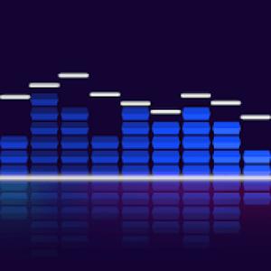 Audio Glow Logo - Music Visualization Apps