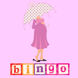 baby shower games bingo app logo