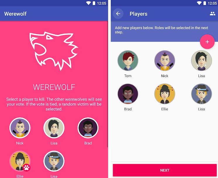 baby shower games werewolf in-game