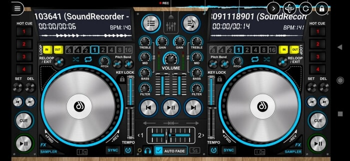 Best DJ Apps for Android - DiscDJ 3D