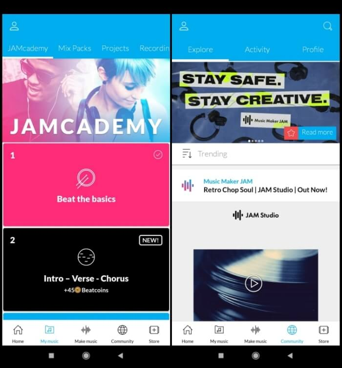 Best DJ Apps for Android - Music Mixer JAM