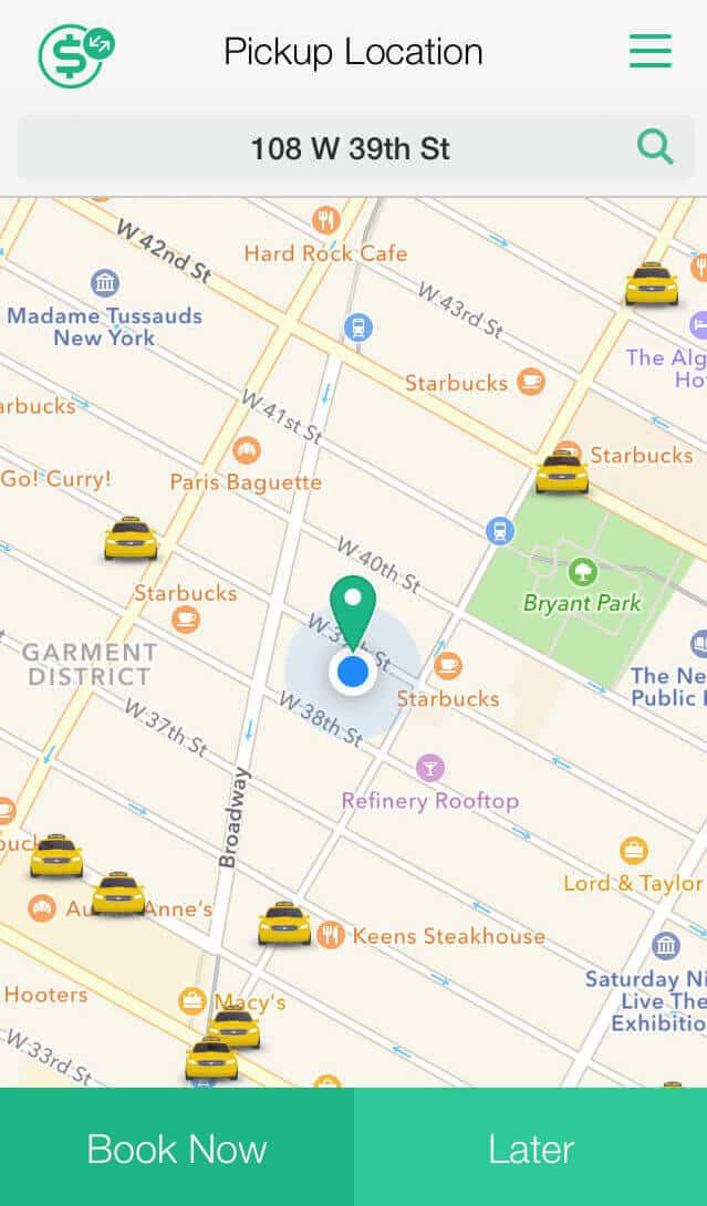 best free rides apps curb in-app