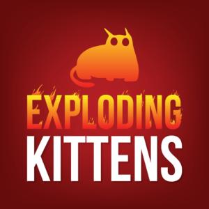 best online card games for free exploding kittens app logo